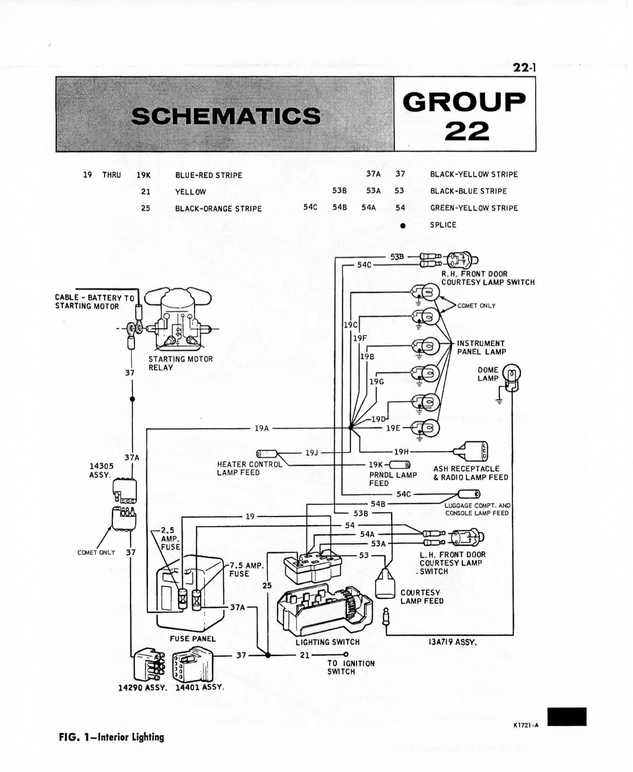 Diagram Source · 66 Comet and I don t know if the wiring .